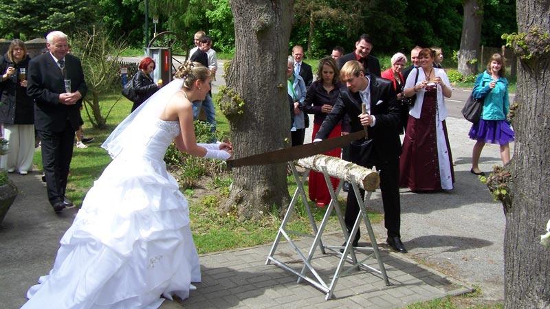 Hochzeitsfeier in Ferbitz in der Prignitz