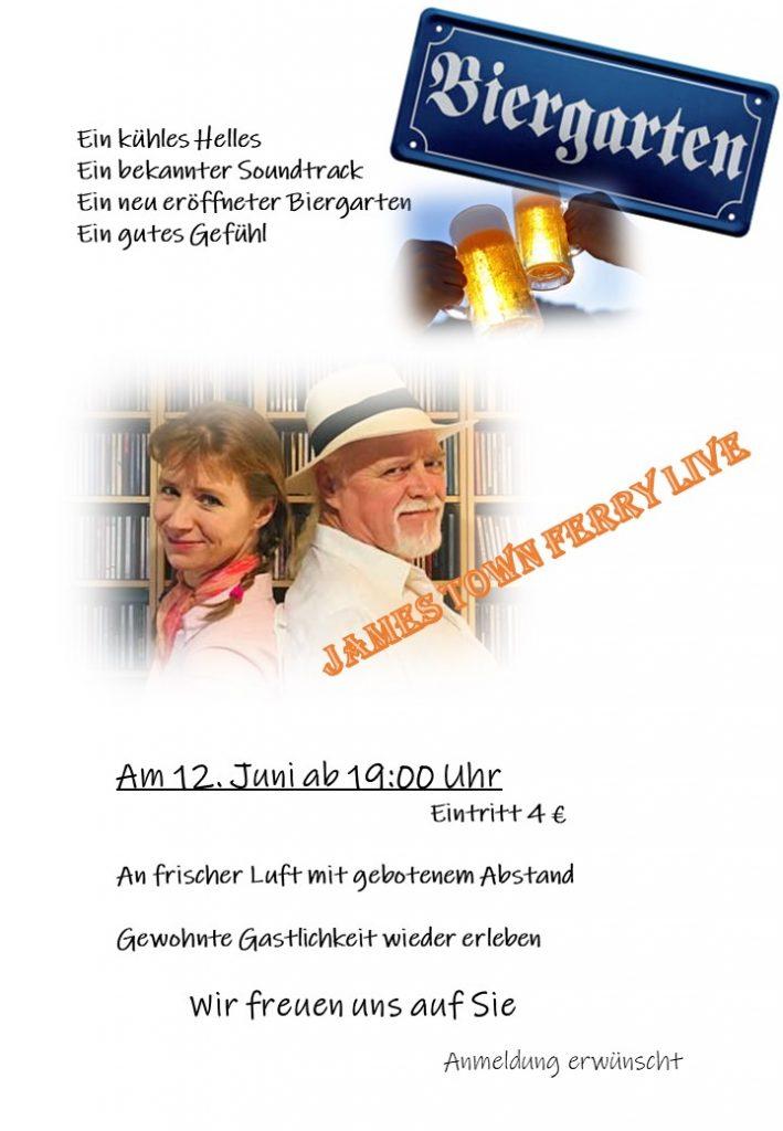 Biergarten Eröffnung im Landgasthaus Bauer in Ferbitz